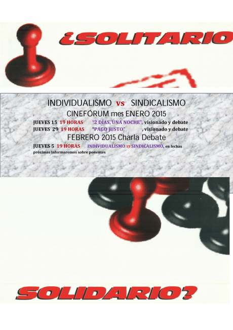 CICLO INDIVIDUALISMO vs SINDICALISMO