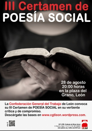 cartel certamen poesia León