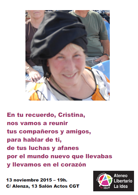 cartel cristina